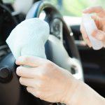 車を除菌する