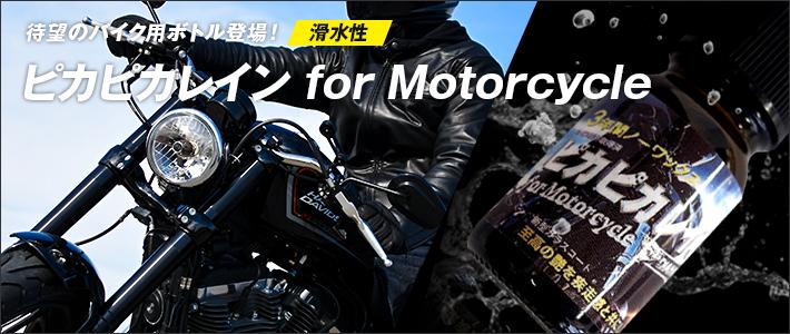 ピカピカレイン for Motorcycle 滑水性